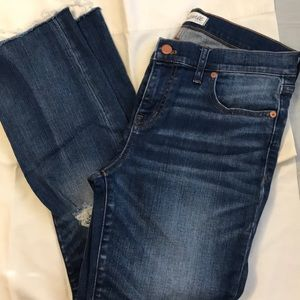 Madewell Alley Straight Crop Jeans. Size 29.